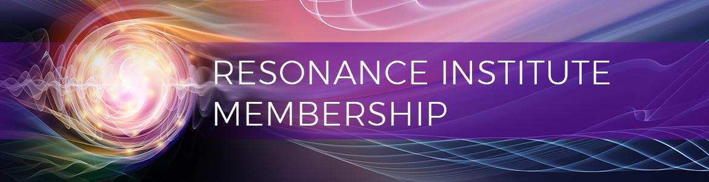 Resonance Institute Membership